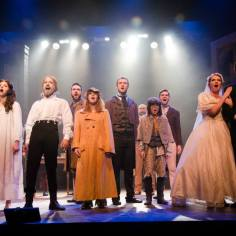 "Cast of LES MISERABLES performs ""Epilogue"""