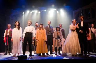 """Cast of LES MISERABLES performs """"Epilogue"""""""