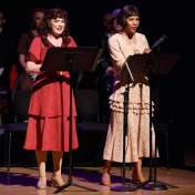 "Madison Paige Buck (Amalia Balash) and Paige Smallwood (Ilona Ritter) sing ""I Don't Know His Name"""