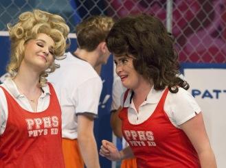Megan McDevitt (Amber) and Madison Paige Buck (Tammy)