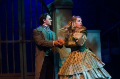 Dan Tracy (Marius) and Madison Paige Buck (Cosette)
