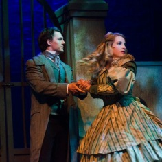 Dan Tracy (Marius) and Madison Paige Buck (Cosette)