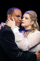 Randy Jeter as Jekyll/Hyde and Madison Paige Buck as Emma Carew